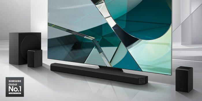 Samsung Soundbar HW-Q950T Tampilan Depan