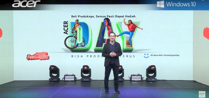 Herbet Ang President Director Acer Indonesia ACER Day 2020
