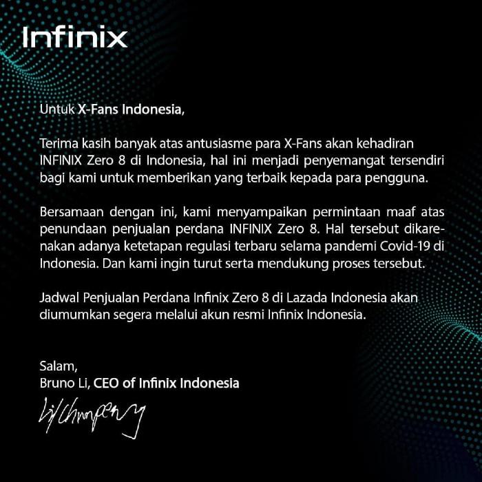 Infinix-Zero-8-penundaan-penjualan