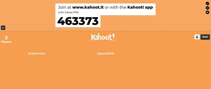Kahoot All Player