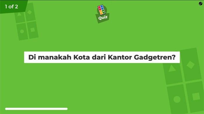 Kahoot Quiz Ready
