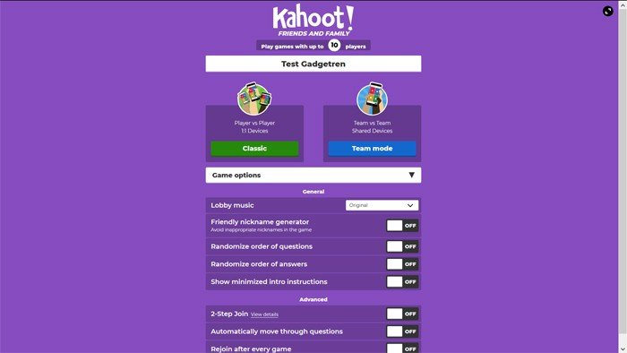 Kahoot Set For Play