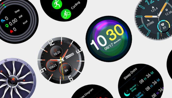 OASE Watch H12W Watch Face