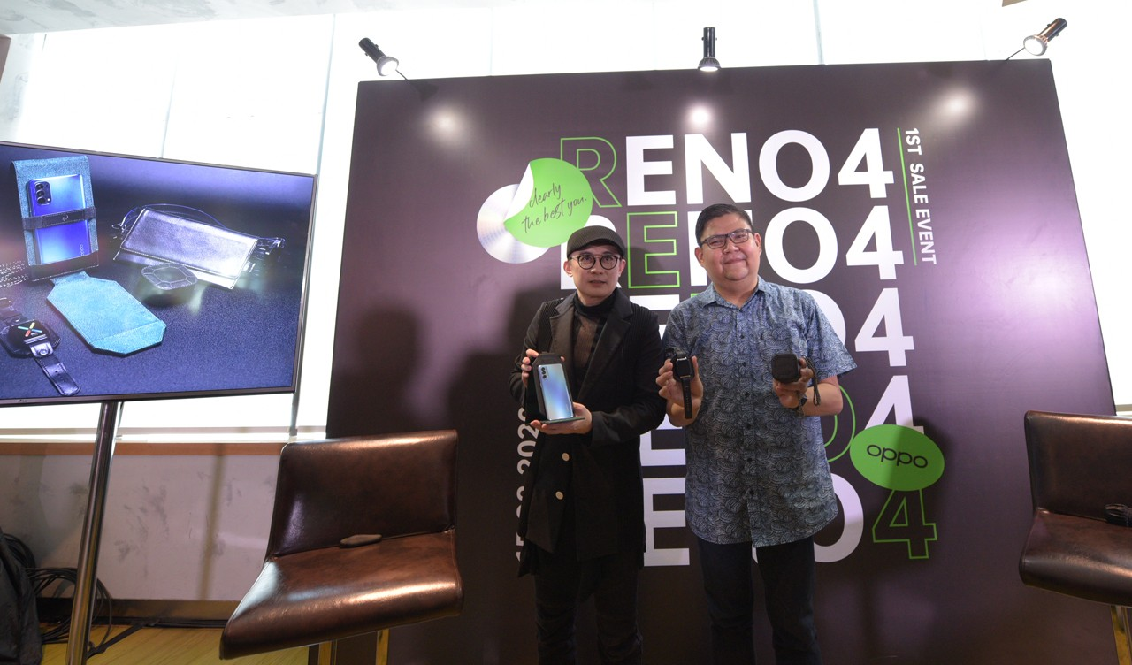 OPPO Reno4 All Yunadi