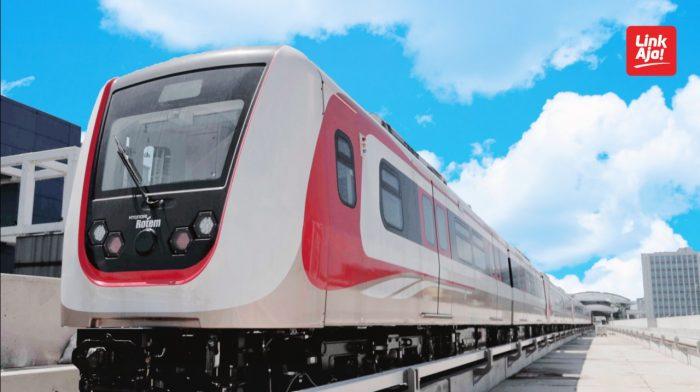 Perluas Ekosistem Transportasi, LinkAja Resmi Layani Pembayaran LRT Jakarta Header