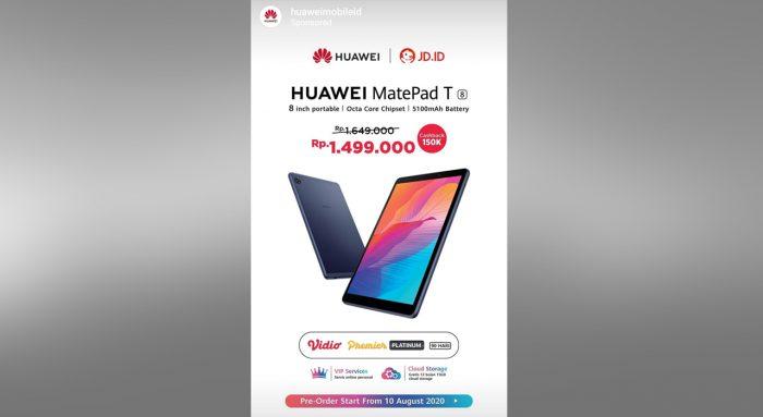 Preorder HUAWEI MatePad T8
