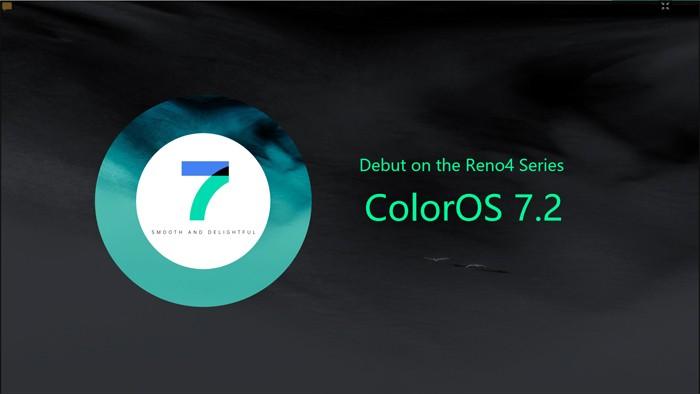 Reno4 - ColorOS 72