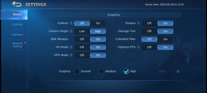 Review realme C15 Mobile Legend