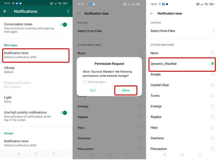 Cara Ganti Nada Dering Whatsapp Di Android Agar Jadi Lebih Unik Gadgetren