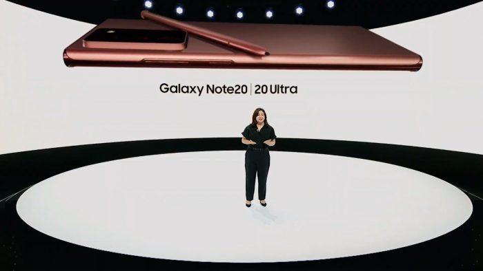 Samsung Galaxy Note 20 Presentation