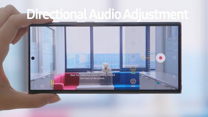 Samsung Galaxy Note20 Directional Audio
