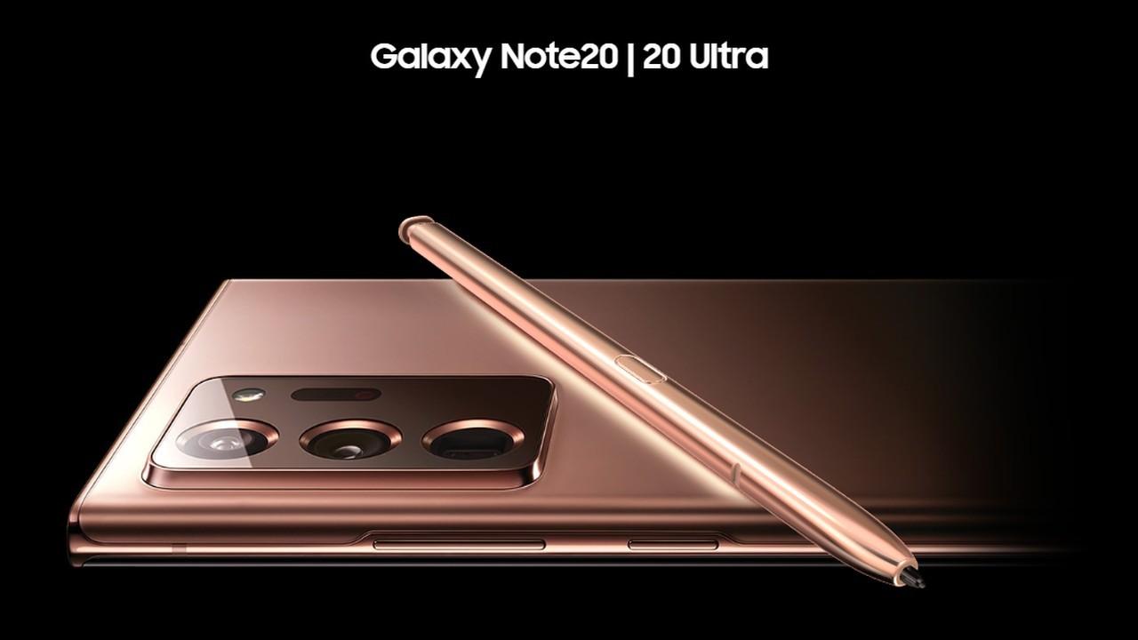 Samsung Galaxy Note20 Header