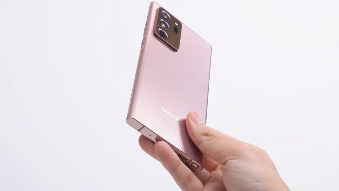 Samsung Galaxy Note20 Ultra Desain Belakang