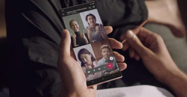 Samsung Galaxy Note20 Video Call