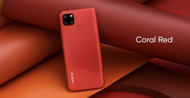 realme C12 Coral Red