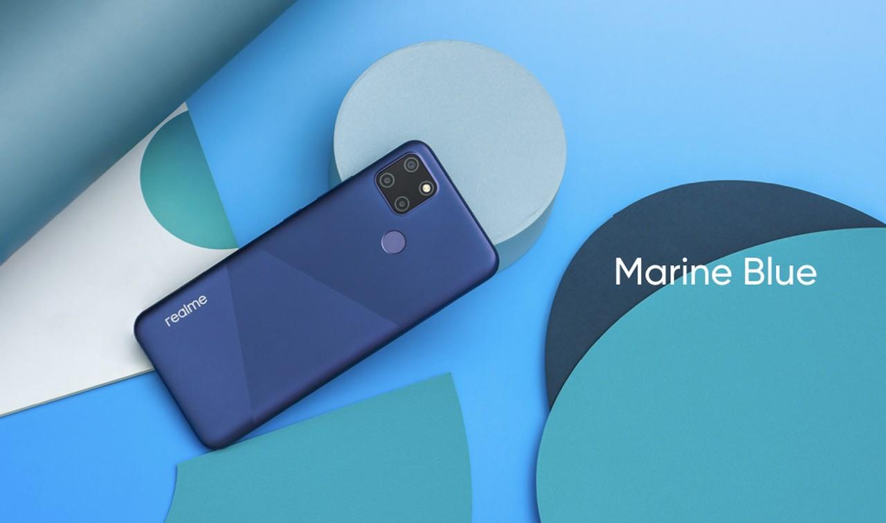 realme C12 Marine Blue