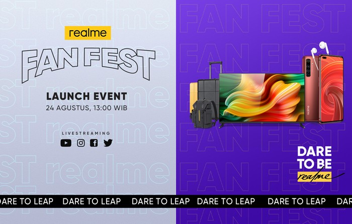 realme Fan Fest Poster