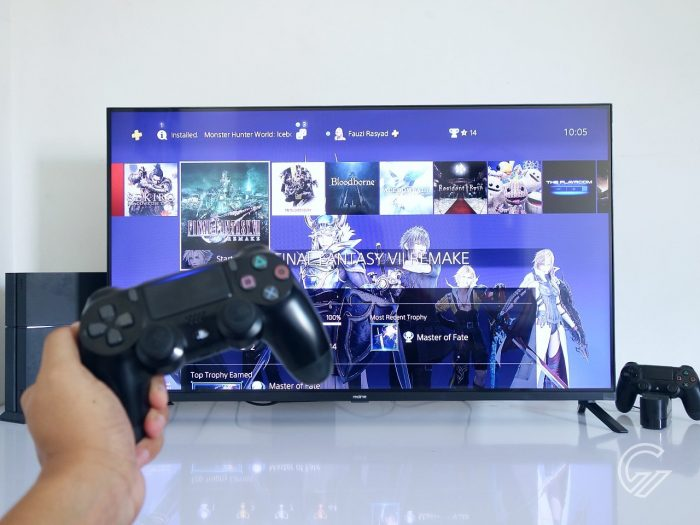 realme Smart TV PS4 Gaming