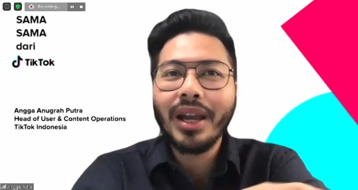Angga Anugrah Putra, Head of User and Content Operations, TikTok Indonesia untuk TikTok 3.