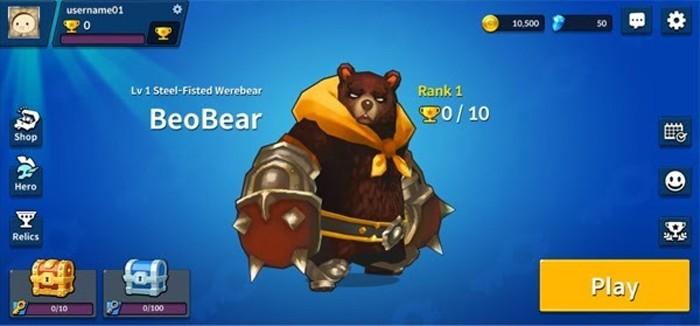 Arena Master 2 BeoBear