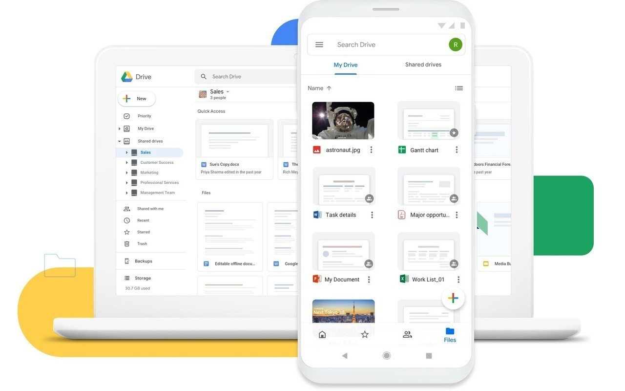 Google Drive Header