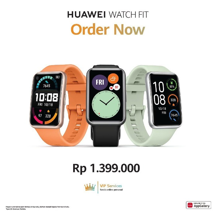 Harga-Pre-Order-HUAWEI-Watch-Fit