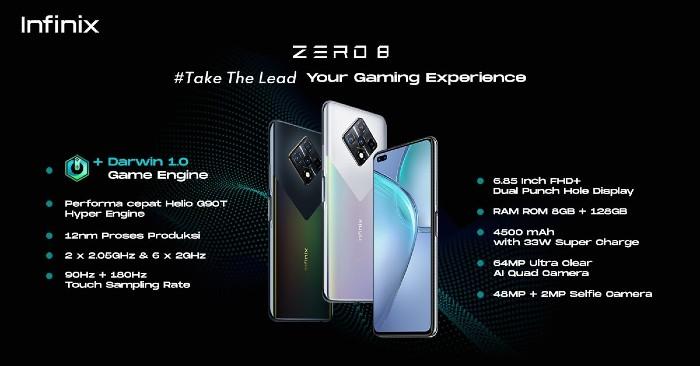 Infinix-Zero-8-Silver-Diamond-Spesifikasi