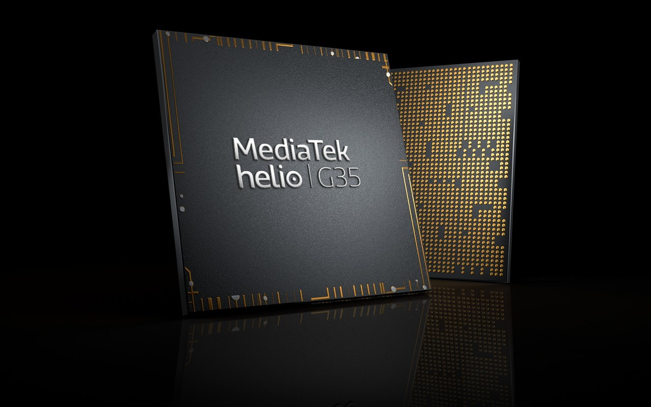 Header MediaTek Helio G35