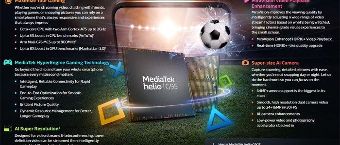 MediaTek Helio G95 Info