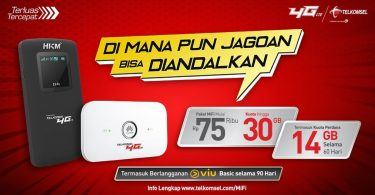 MiFi Telkomsel 4G