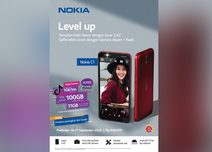 Nokia C1 Poster