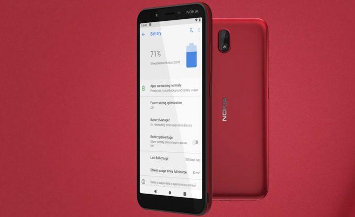 HP di Bawah 1 Jutaan - Nokia C1