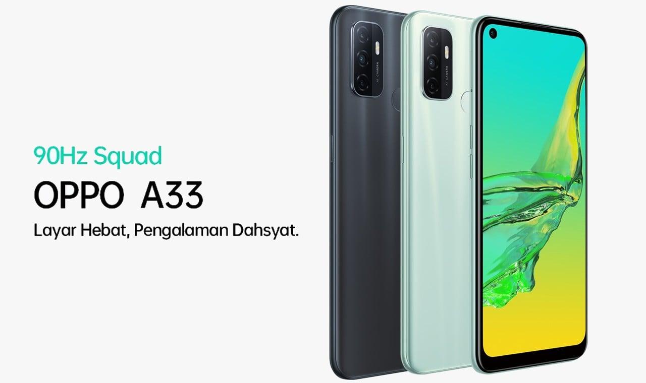 OPPO A33 Feature - 5 Rekomendasi Smartphone Terbaru dengan Chipset Snapdragon 460