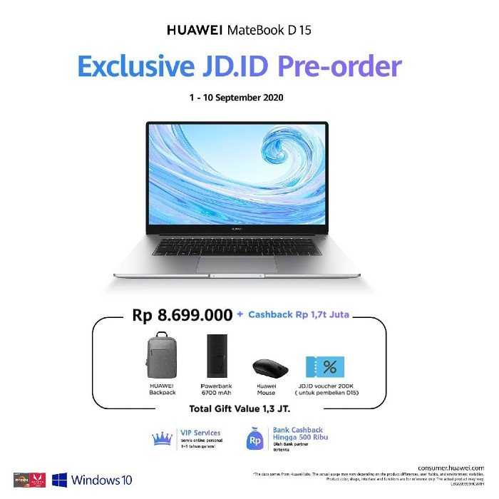 Pre-Order-and-price-HUAWEI-MateBook-D15