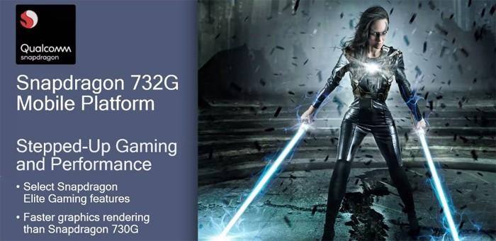Qualcomm Snapdragon 732G Elite Gaming