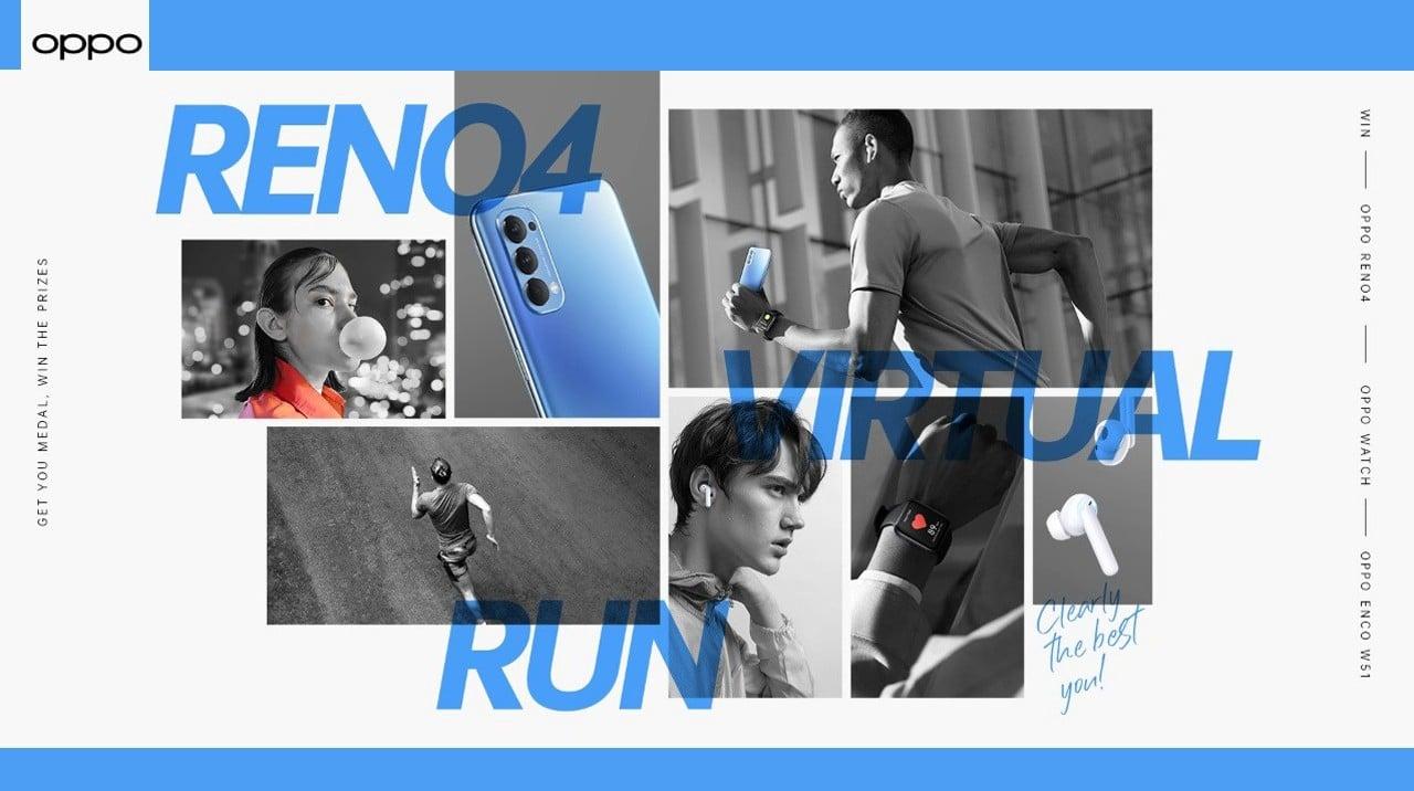 Fitur Reno4 Virtual Run