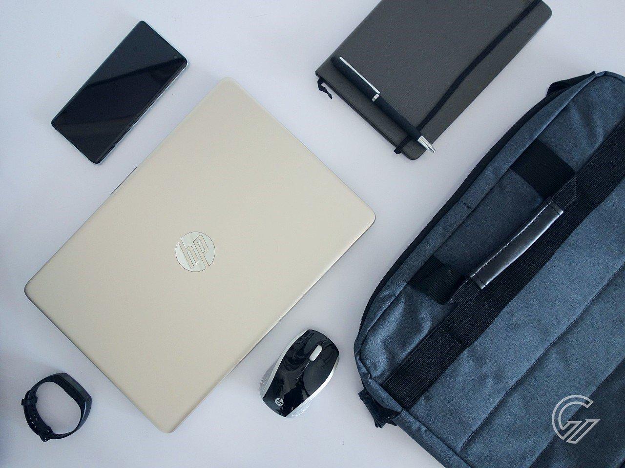 Review HP 14s-dk1001au Header
