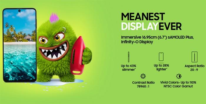 Samsung Galaxy M51 Display