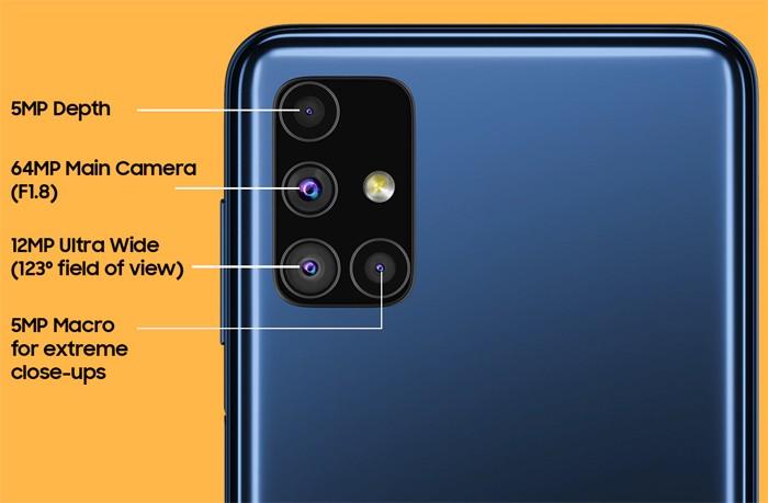 Samsung Galaxy M51 Quad Cam