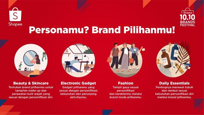 Shopee 10 10 Brand Festival Persona