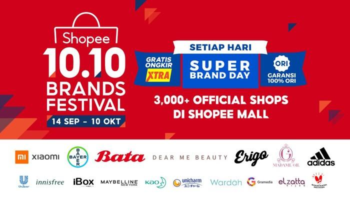 Shopee 10 10 Brand Festival