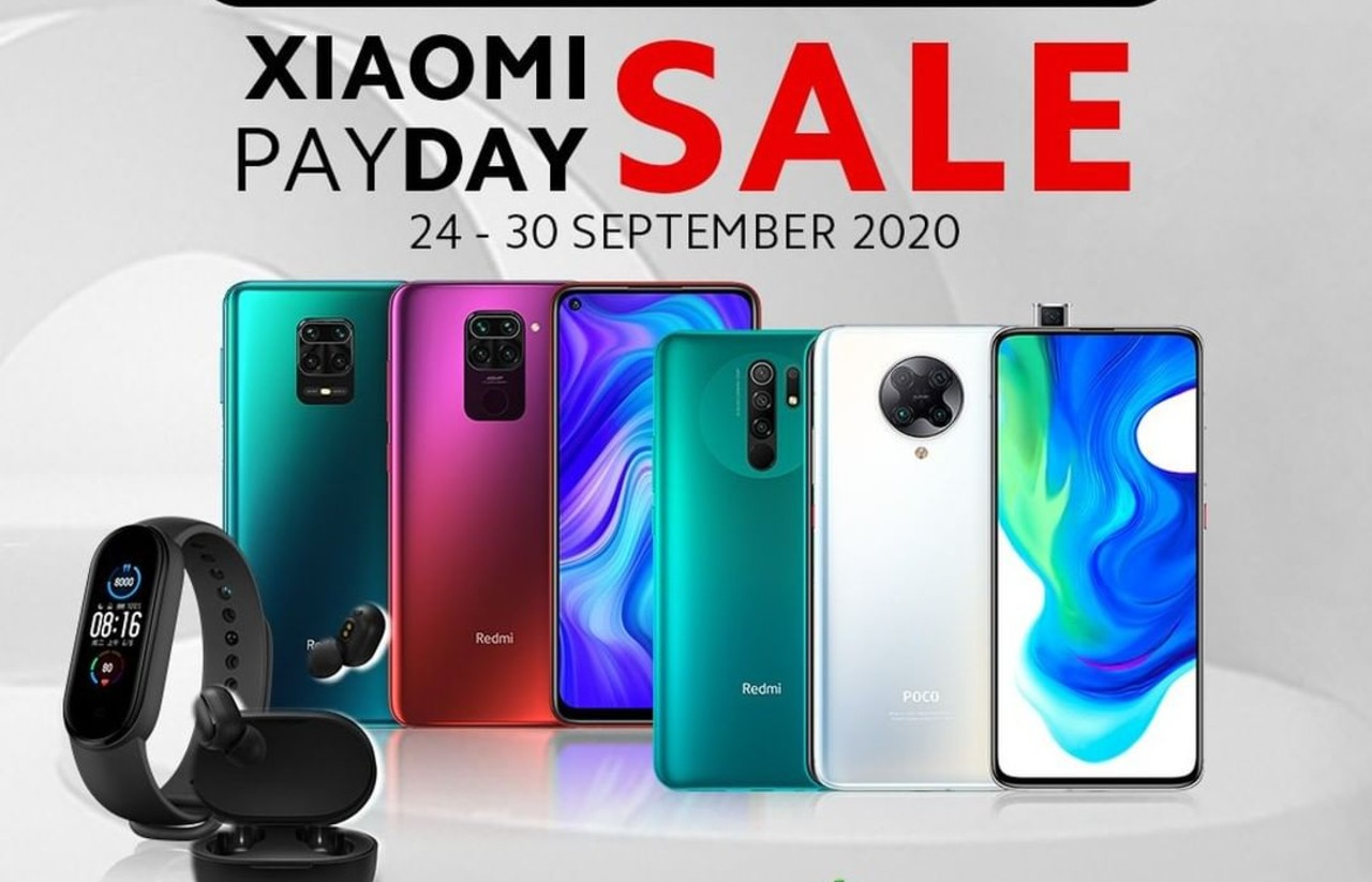 Xiaomi Payday Sale 24-30 September 2020