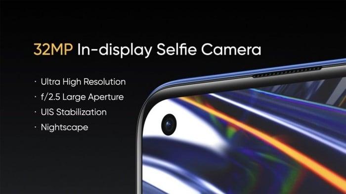 realme 7 Pro Selfie