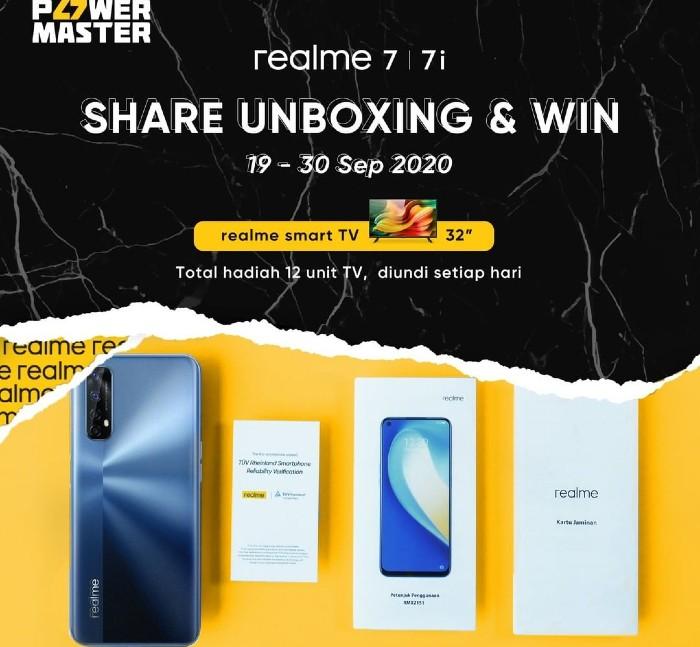 realme-7-dan-7i-Share-Unboxing-dan-Win-realme-Smart-TV-32