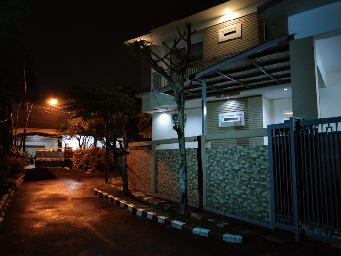 realme 7i Kamera Belakang Malam Rumah Nightscape