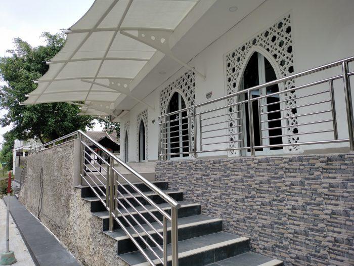 realme 7i Kamera Belakang Masjid