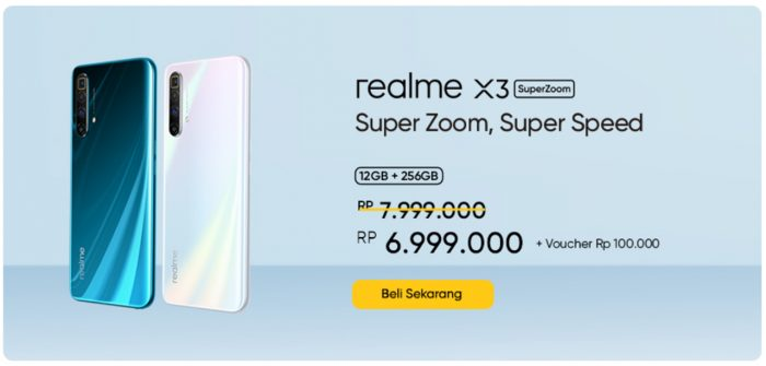 realme X3 SuperZoom Diskon