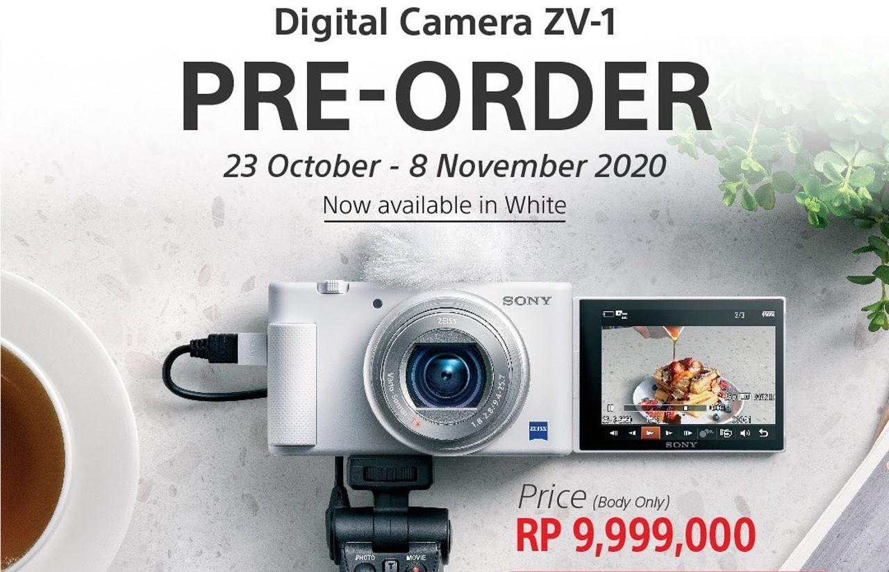 Baru-Kamera-Saku-Digital-Sony-ZV-1-Hadir-dengan-Warna-Putih-Yang-Lebih-Kece
