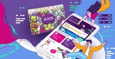 Cara Memasukkan Kode Voucher AXIS Header