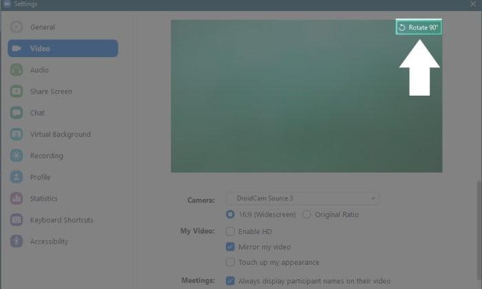Cara Menghubungkan Kamera HP ke Laptop Untuk Zoom - Zoom Config 2